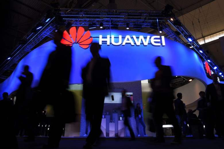 Huawei revenue shortfall was due to US ban.