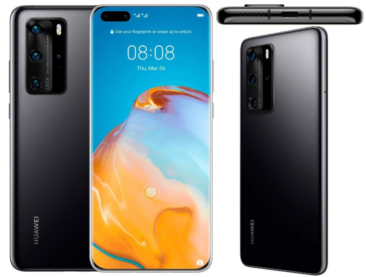 A glance at the Huawei P40 Pro