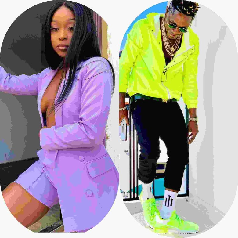 Shatta Wale and Efia Odo