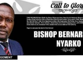 Detailed information about the burial arrangement for the late Bishop Bernard Nyarko 9