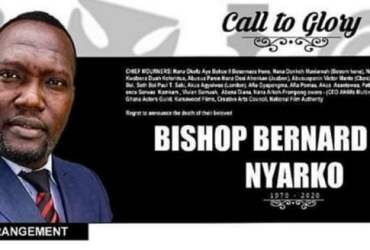 Detailed information about the burial arrangement for the late Bishop Bernard Nyarko 13