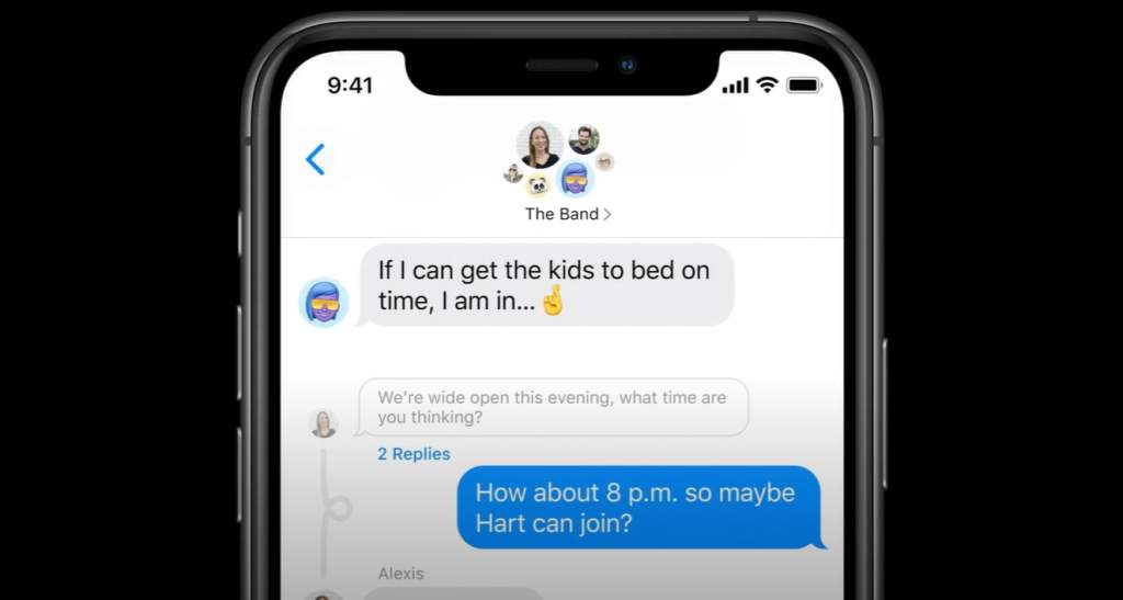 Messages in iOS 14