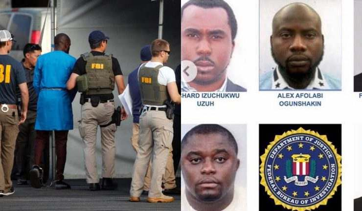 Photos: FBI names 6 Nigerians among most wanted cybercriminals