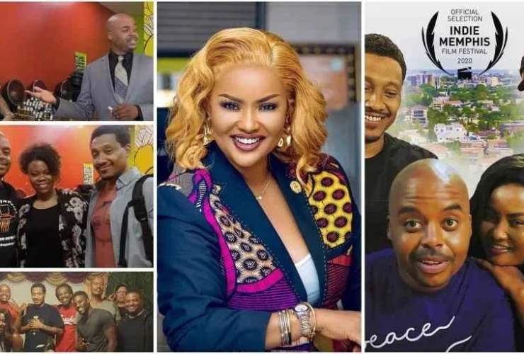 "Nana Ama McBrown featured in American Movie ""Coming To Africa"" [Watch thriller]"