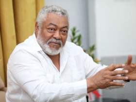 Former President J.J. Rawlings died of covid-19