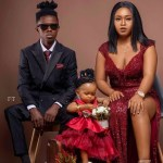 Strongman drops stunning family picture on New Year's Day; see Sarkodie's reaction
