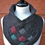 Be Weaving Crochet Cowl Free Pattern with Video Tutorials