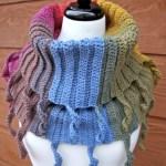 Curly Cute Cowl Crochet Pattern