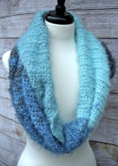 Mystic Mermaid Mod Scarf free crochet pattern