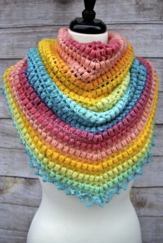 Spring Me Forward Triangle Scarf