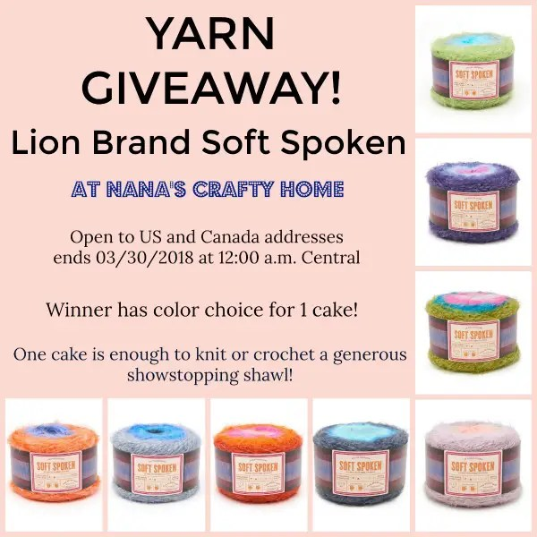Soft Spoken Yarn Giveaway