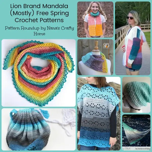 Lion Brand Mandala Mostly Free Spring Crochet Patterns Extraordinary Mandala Yarn Patterns