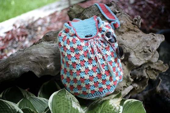 Everything's Beachy Bag Free Crochet Pattern