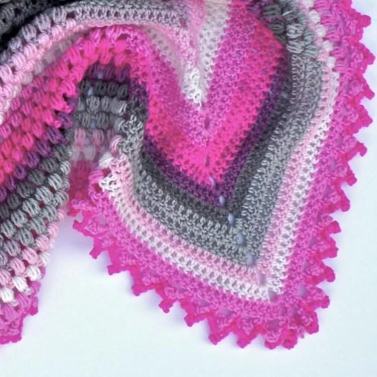 Pineapple Of My Eye Baby Blanket Free Crochet Pattern