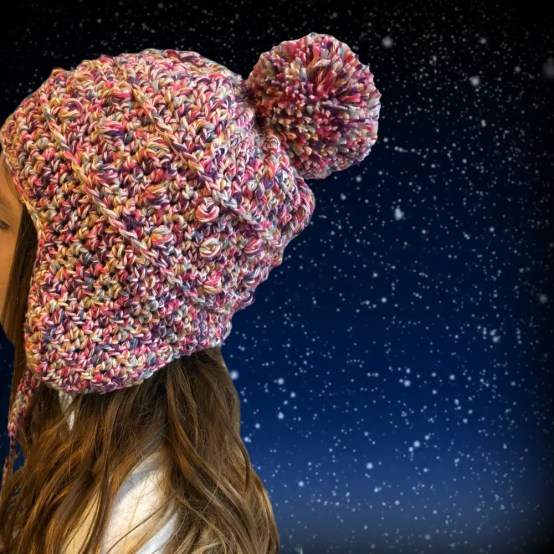 Cloudland Chullo Hat a free crochet pattern by The Roving Nomad