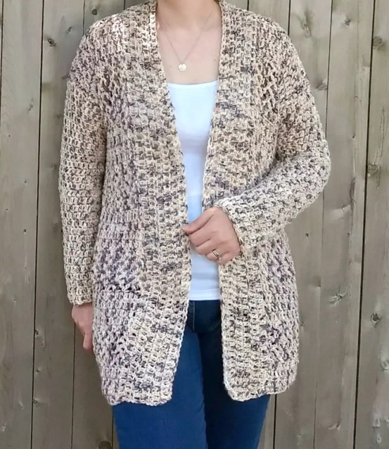 Summer Nights Cardi a free crochet pattern by Croyden Crochet