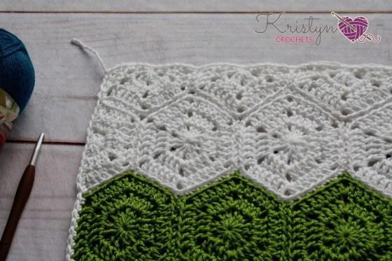 Night Owl Crochet Hexagon Blanket Free Pattern By Kristyn Crochets