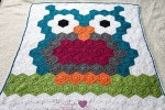 Night Owl Crochet Hexagon Blanket Free Pattern by Kristyn Crochets