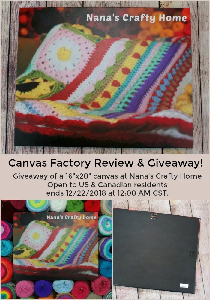 Canvas Factory Review Giveaway