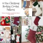 13 Free Christmas Stocking Crochet Patterns Roundup