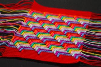 Apache Tears crochet blanket pattern by Sarah London