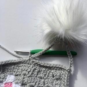 Heart C2C Scarf Free Crochet Pattern - Nana's Crafty Home