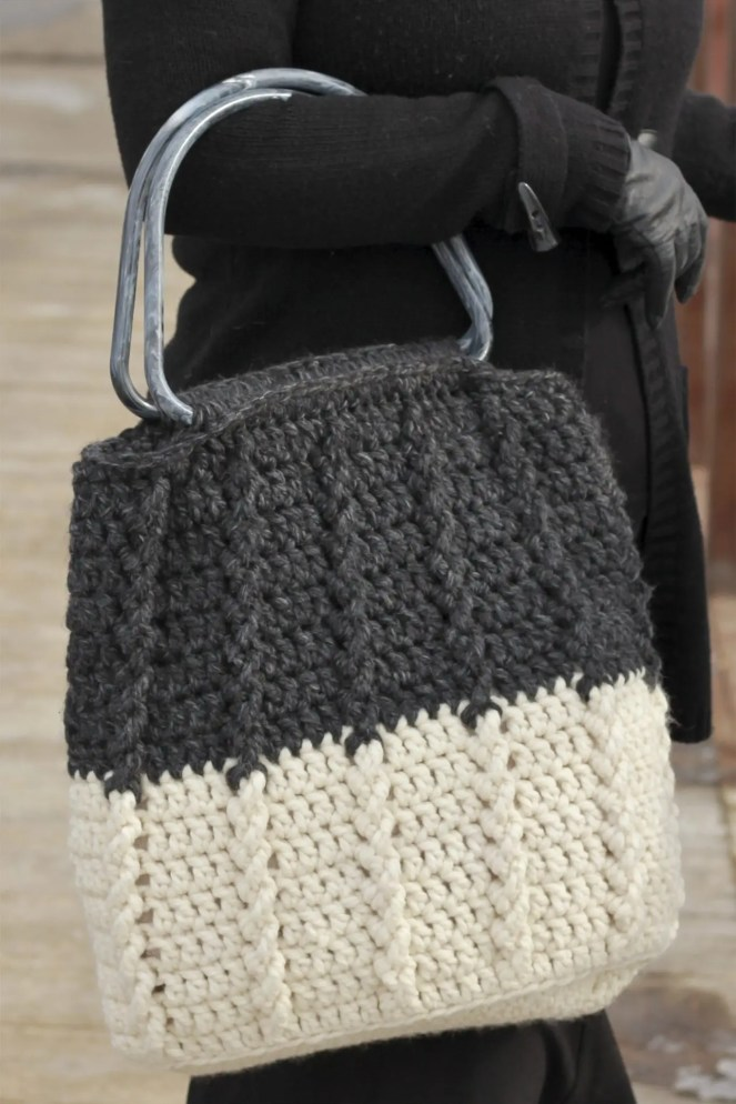 Bewitching Braids Bag Free Crochet Pattern