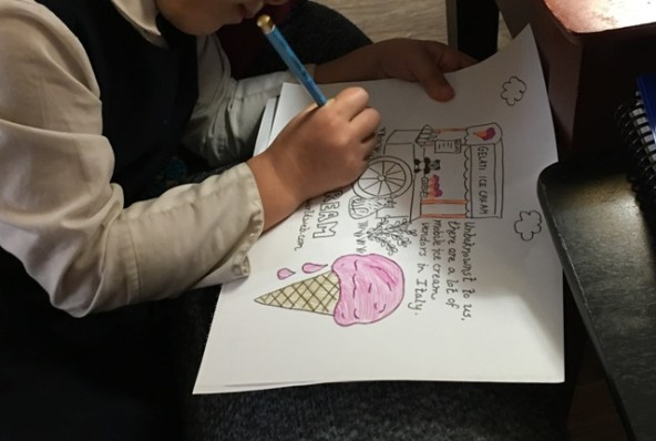 ice cream coloring