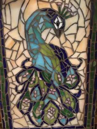 peacock grouted