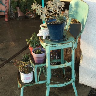 step stool natural