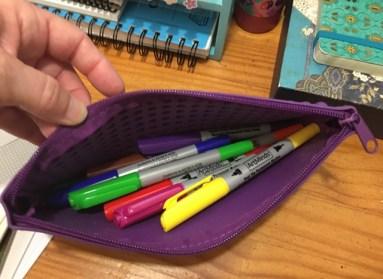felt pens