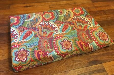 cushion covered