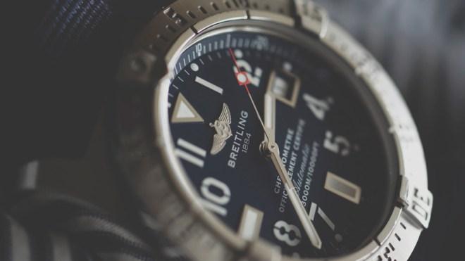 ブライトリングの腕時計