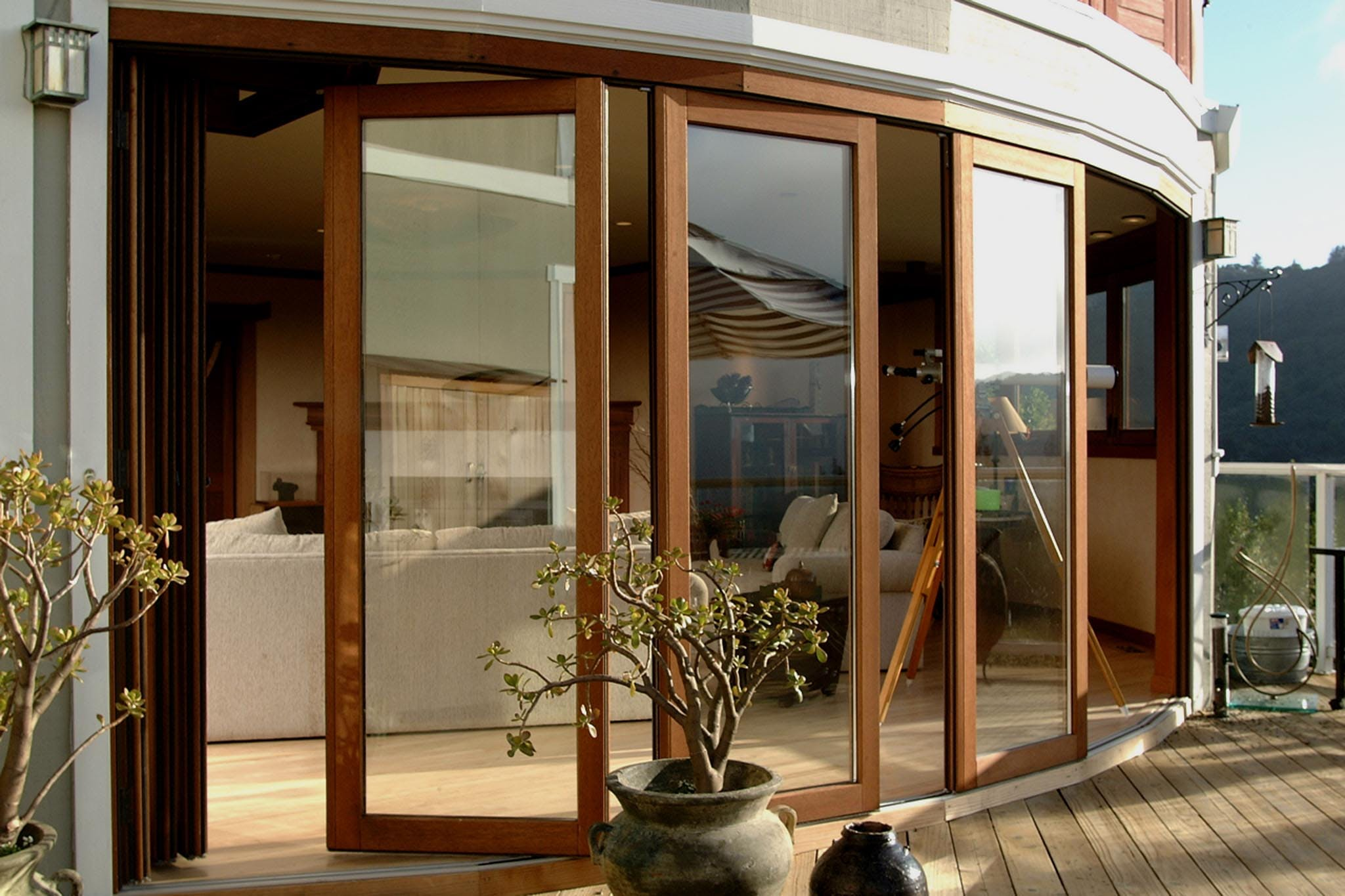 how to clean sliding glass door tracks
