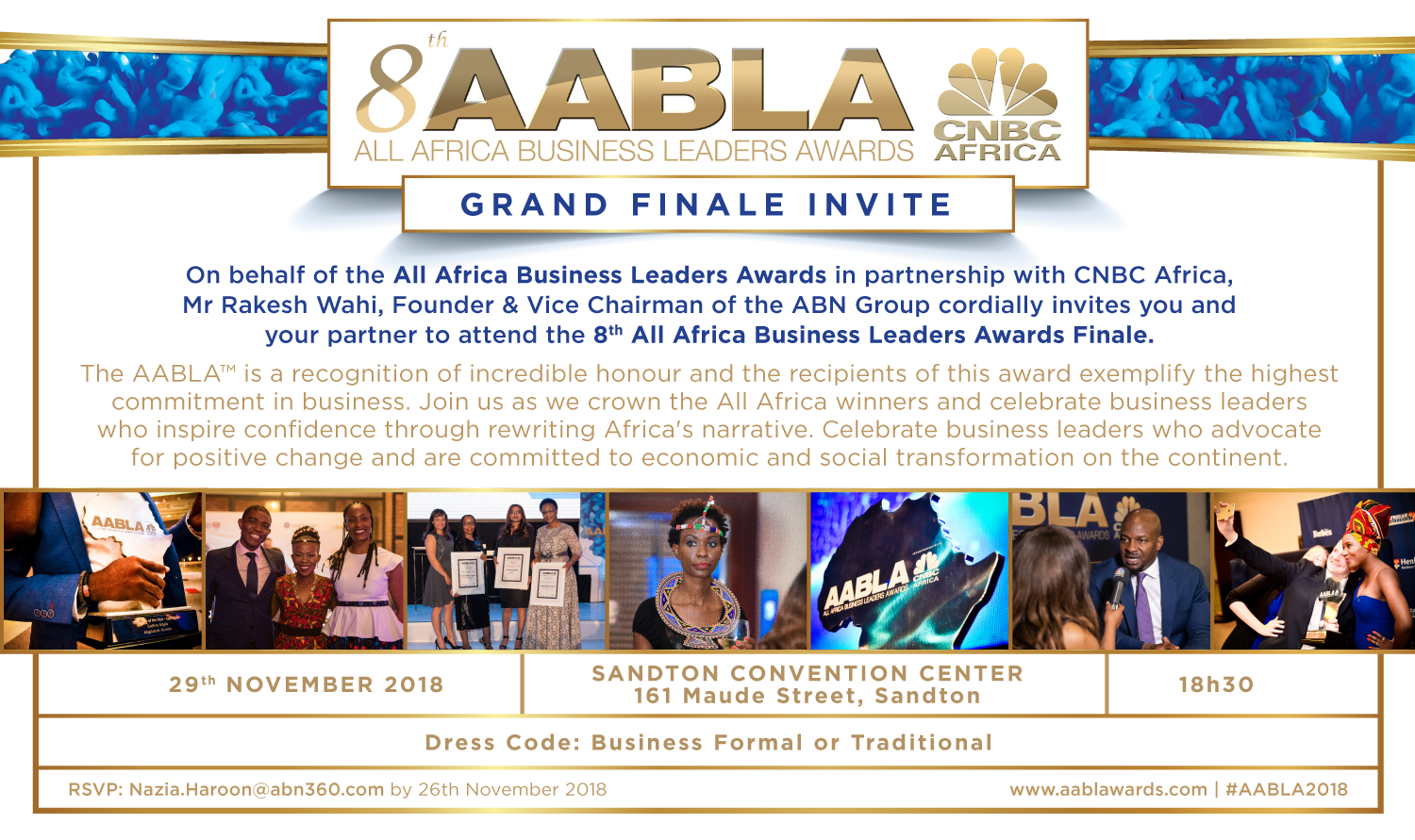 8th all africa business