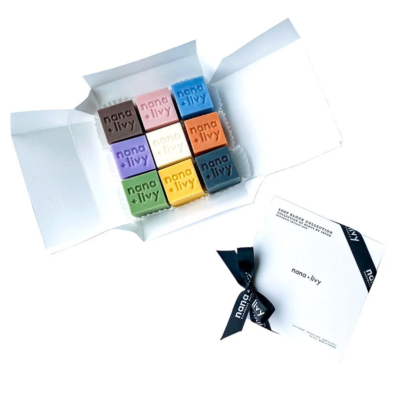 Soap Block Collection Gift Set