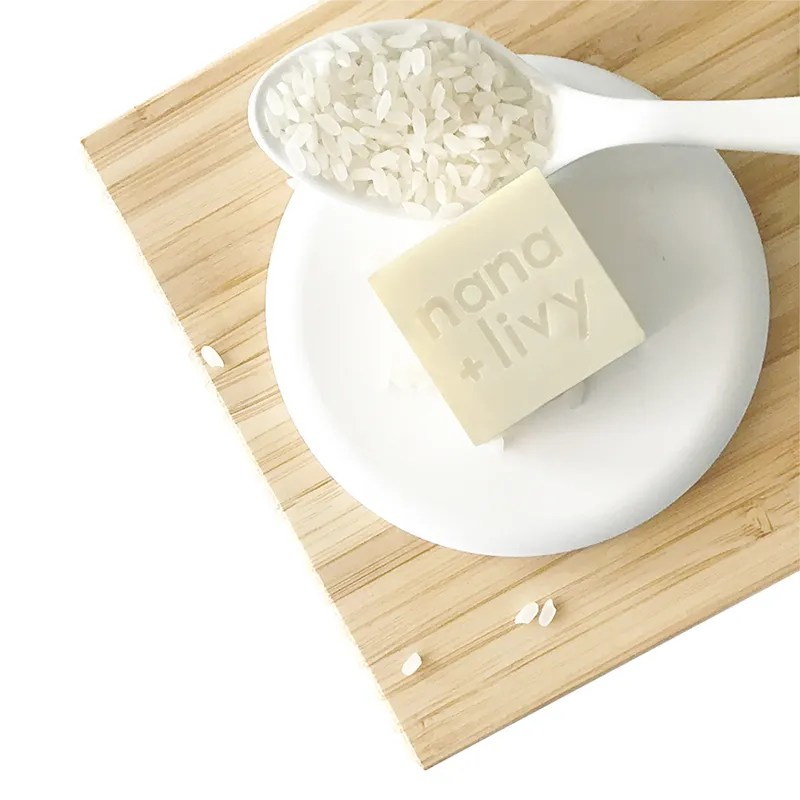 Rice Milk Soap Block