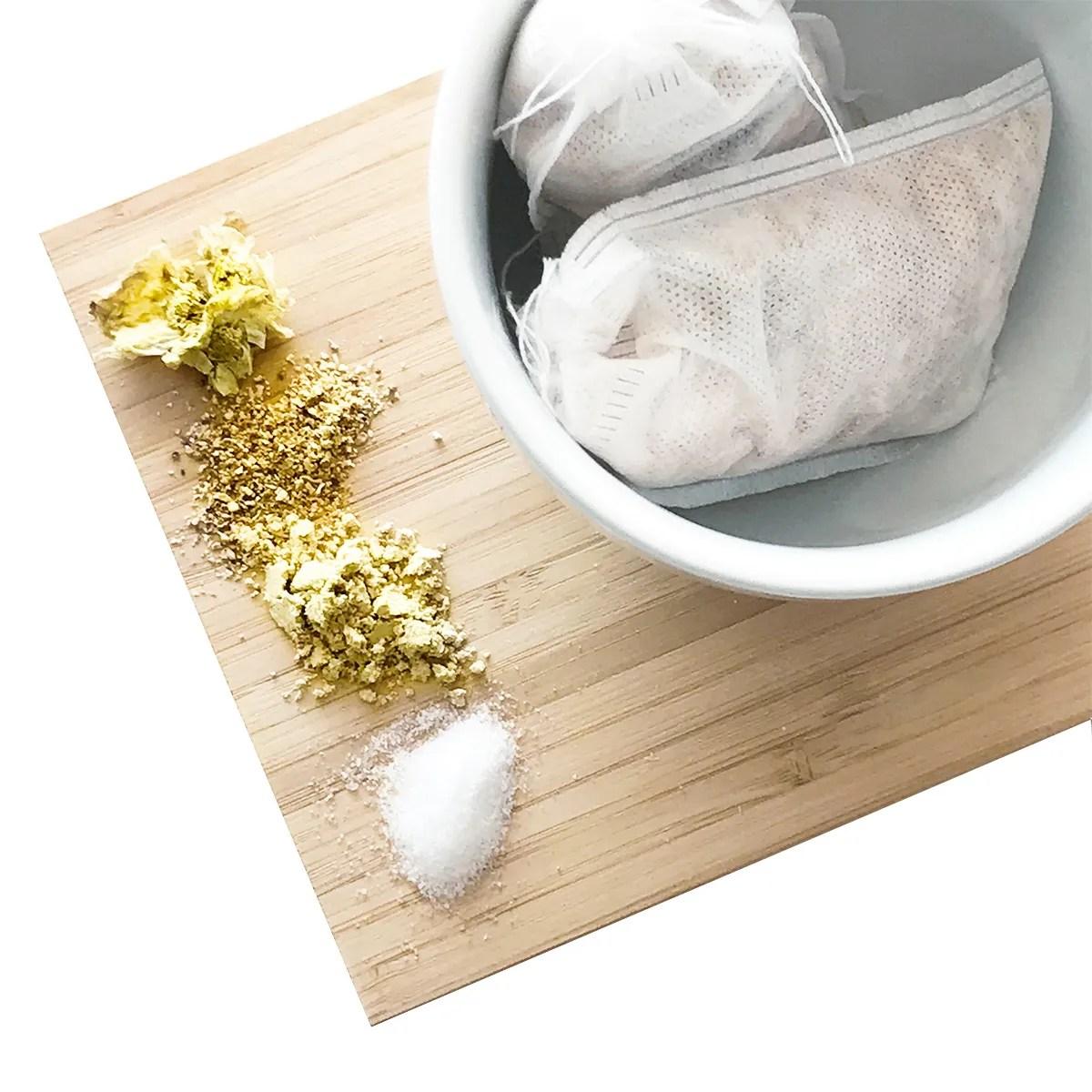 chrysanthemum bath tea