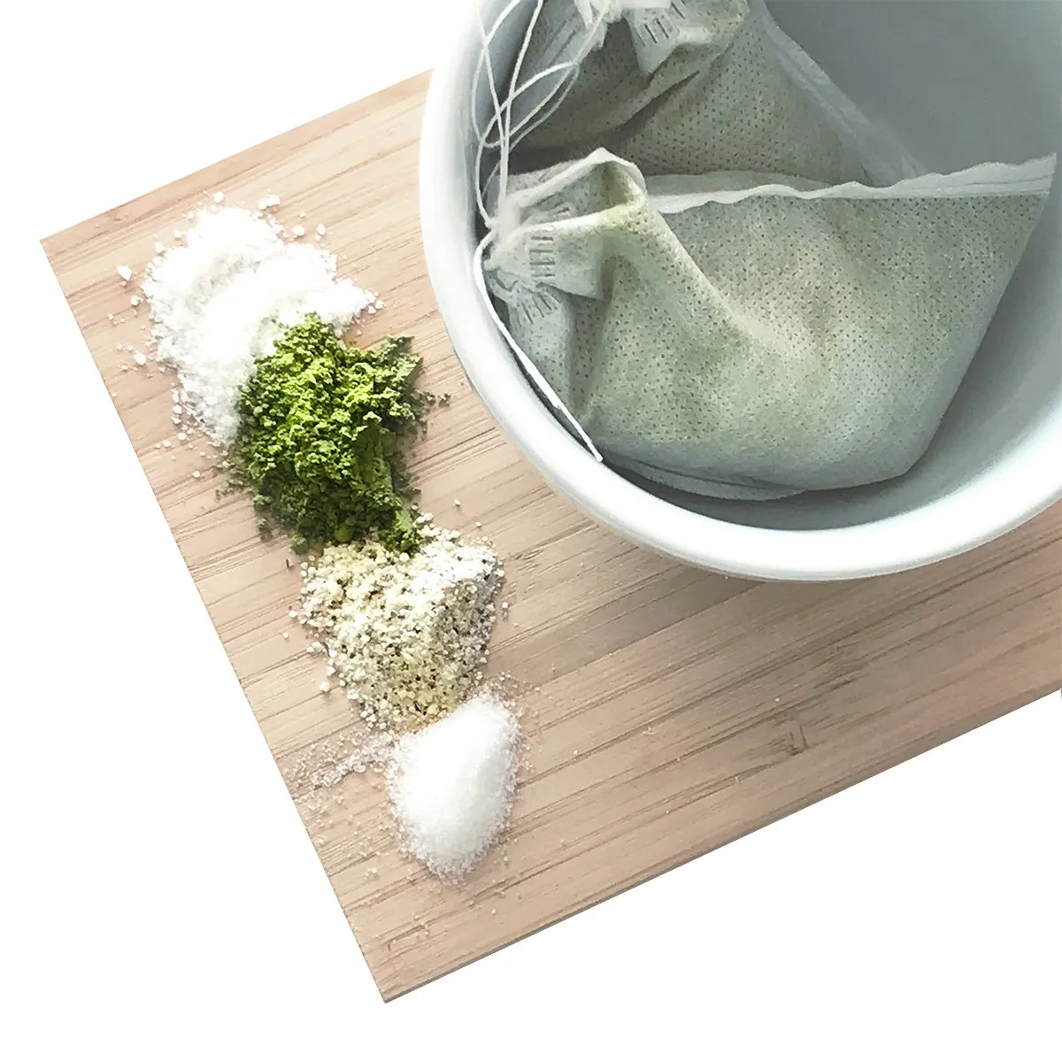 matcha bath tea