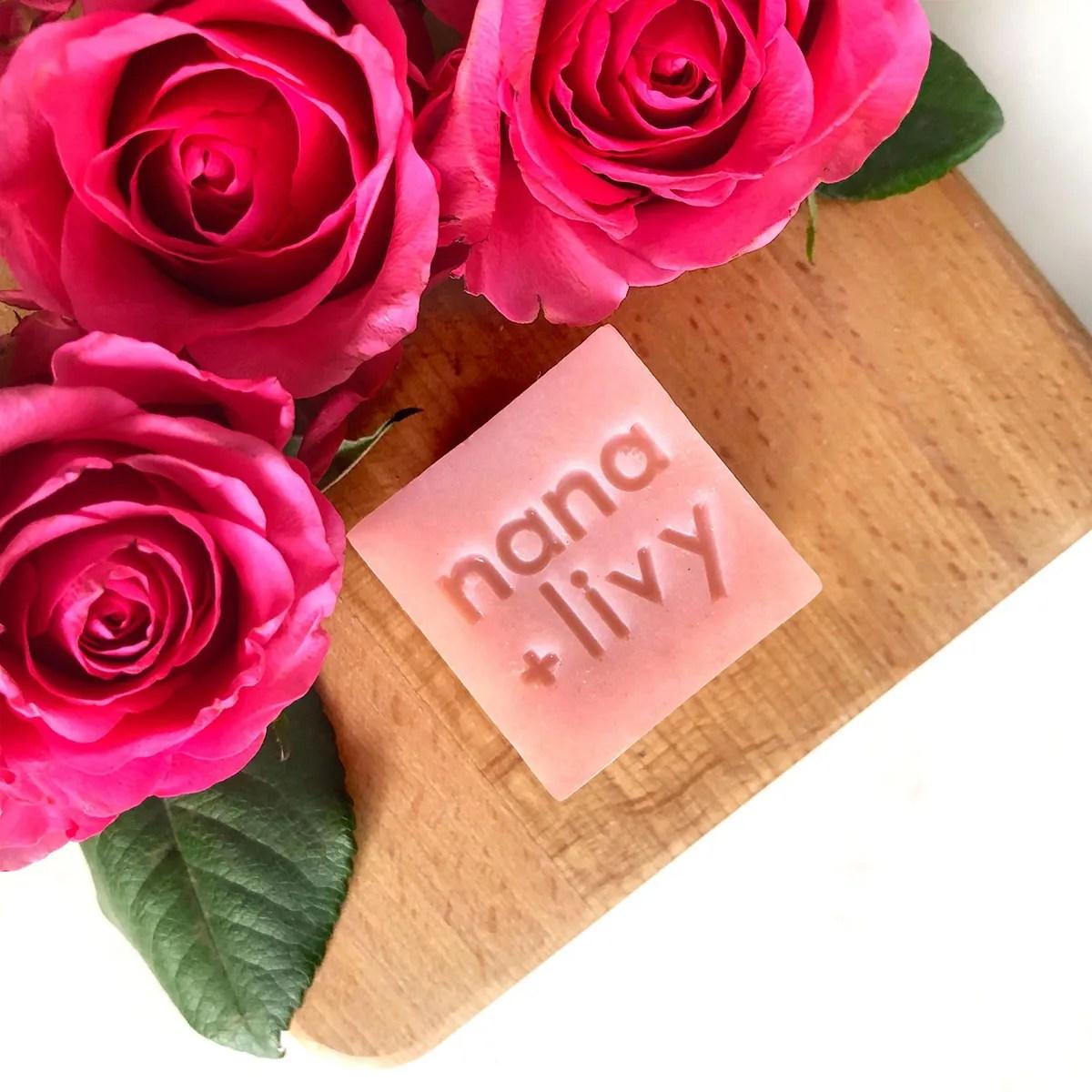 Rose Soap Block