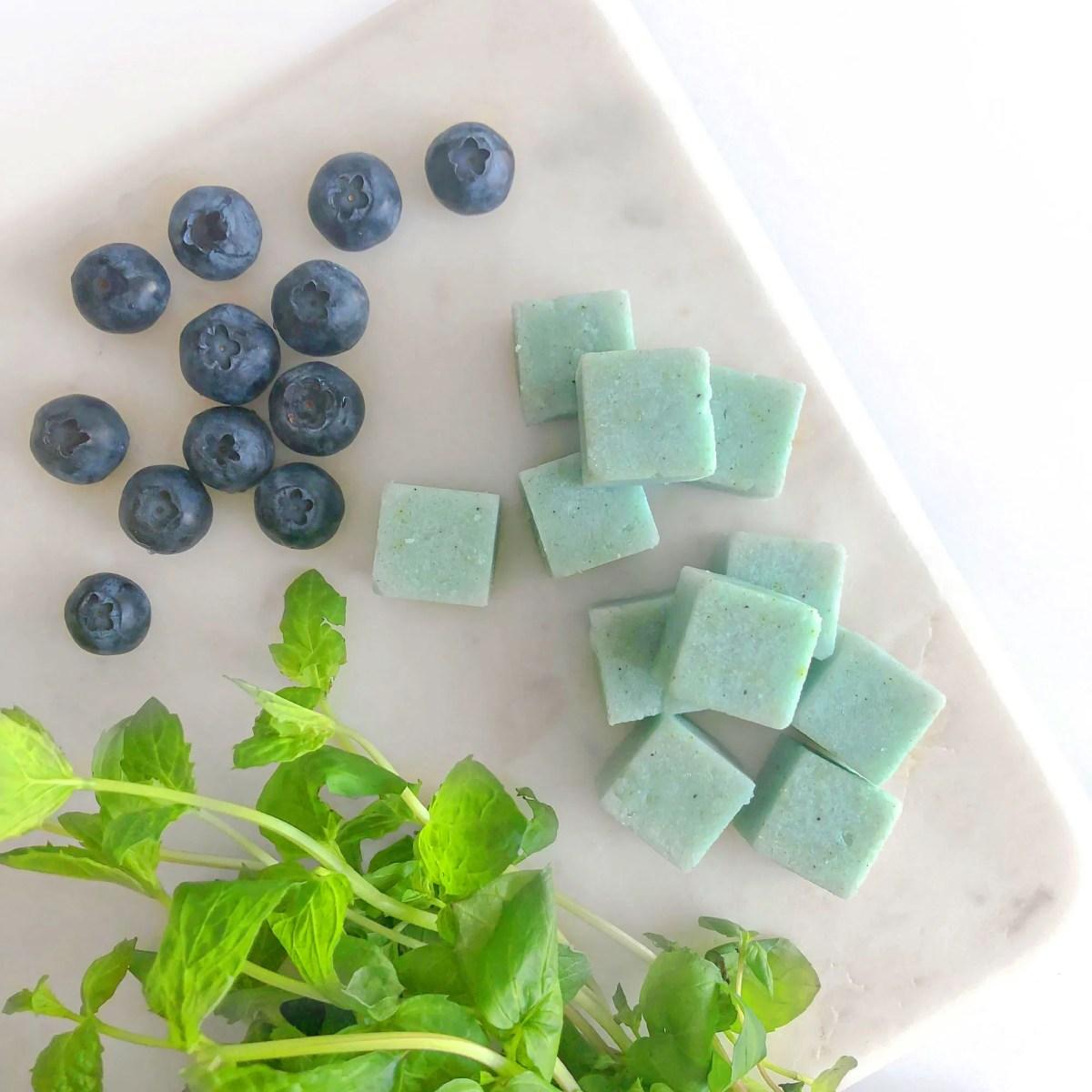 Blueberry Mojito Sugar Block
