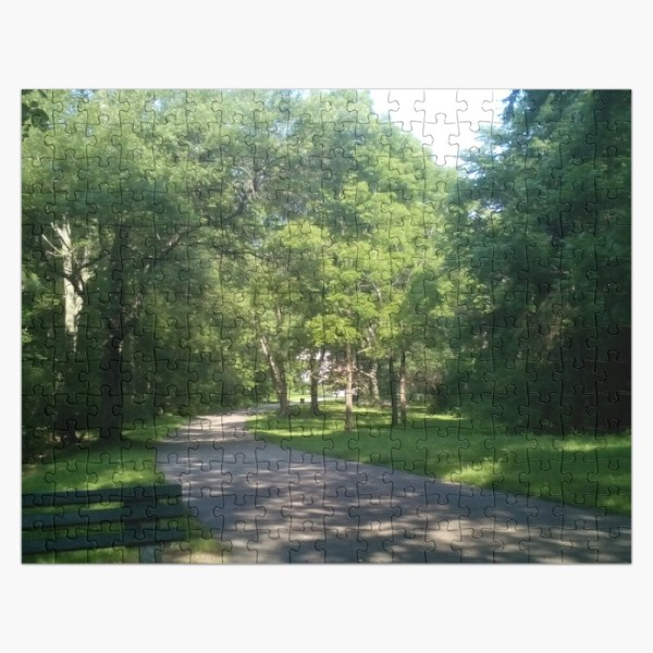 Franklin Park Boston Wilderness Jigsaw Puzzle
