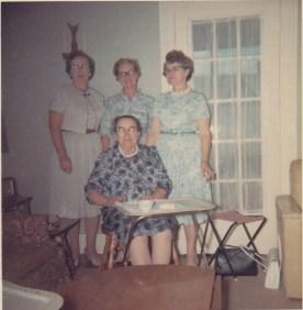 Bea Bonk, Betty, Tootsie and Gram
