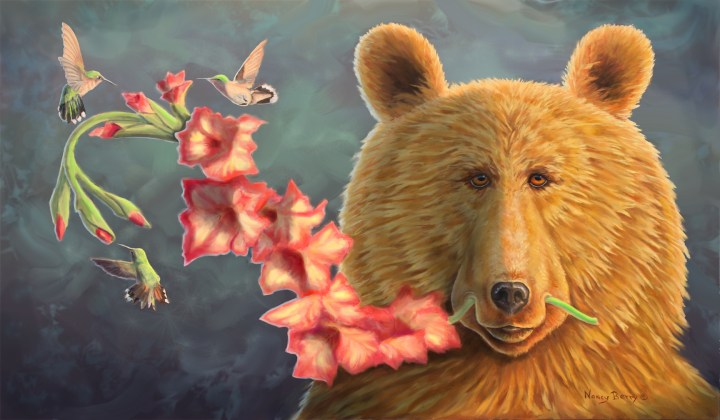 Glad Bear by Nancy Berry