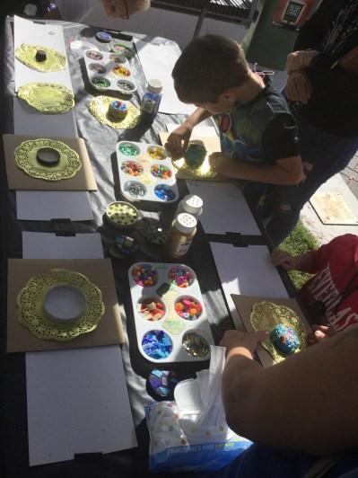 Mosaic workshop Artbeat Ipswich