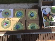 Mosaic workshop Ipswich Artbeat festival
