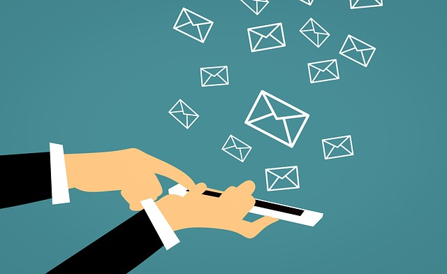 emails coming from a smart phone