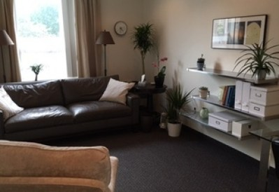 photo fo nancy carter's therapy office