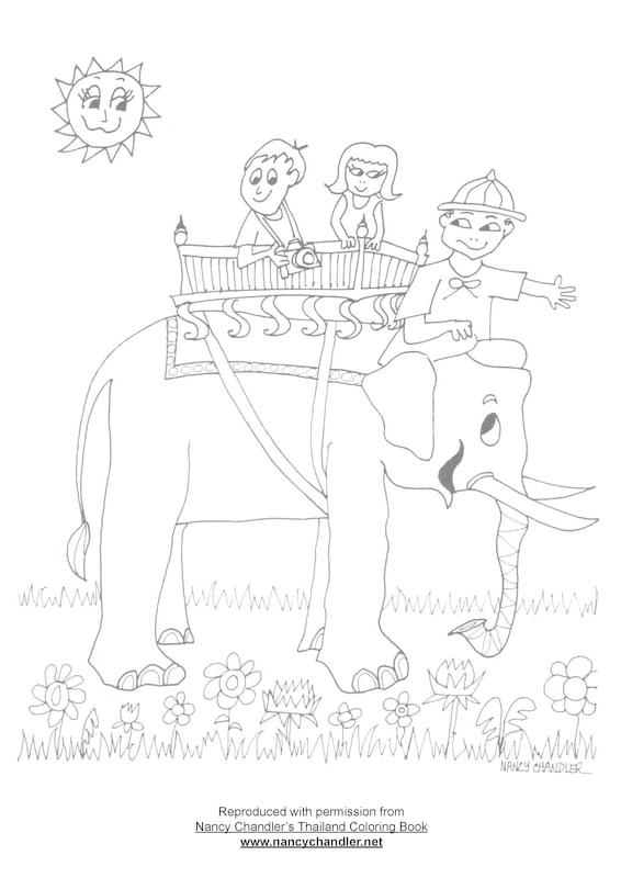 Nancy Chandler's Free Coloring Downloads