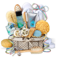 Spa Spring Gift Basket